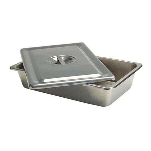 Cubeta con tapa en acero inoxidable medicarequiposmedicos for Cubetas de acero inoxidable